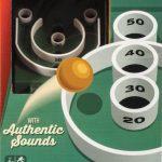 Retro TableTop Skeeball Game