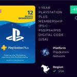 1 Year PlayStation Plus Membership