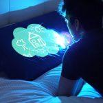 Illuminated Doodle Pillowcase